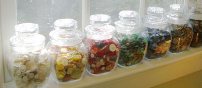 RowofButtonJars