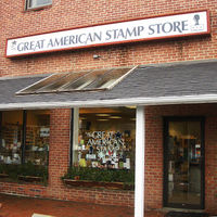 Across The Way From That Shop Is A Very Special Place Called Great American Stamp Store Come On In