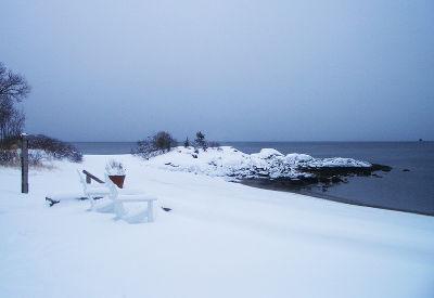 SnowyBeach