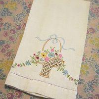 EmbroideredTeaTowel