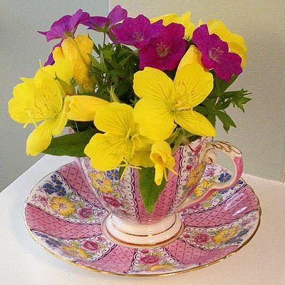 FlowerTeaCup