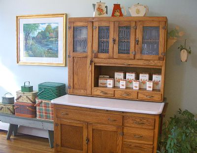 If you're not familiar with this type of cabinet, here's a little  background information. Founded in 1898 in Indiana, The Hoosier  Manufacturing Company came ... - My Hoosier Cabinet - The T-Cozy