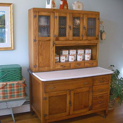 hoosier kitchen cabinet value 3