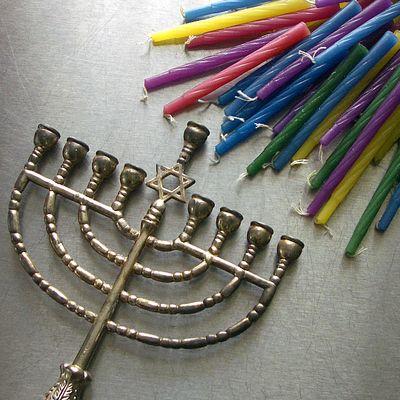 Menorah&Candles