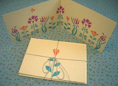 BloomingNoteCards
