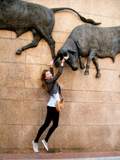 Hannah at the Bullfight