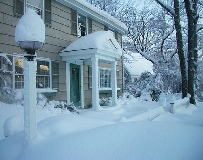 SnowyFrontWalk