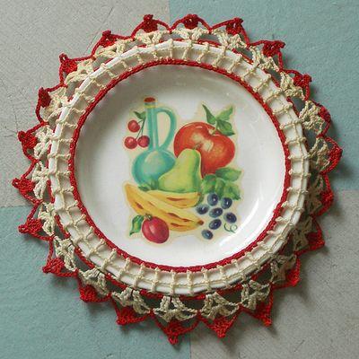 Doily&Plate1