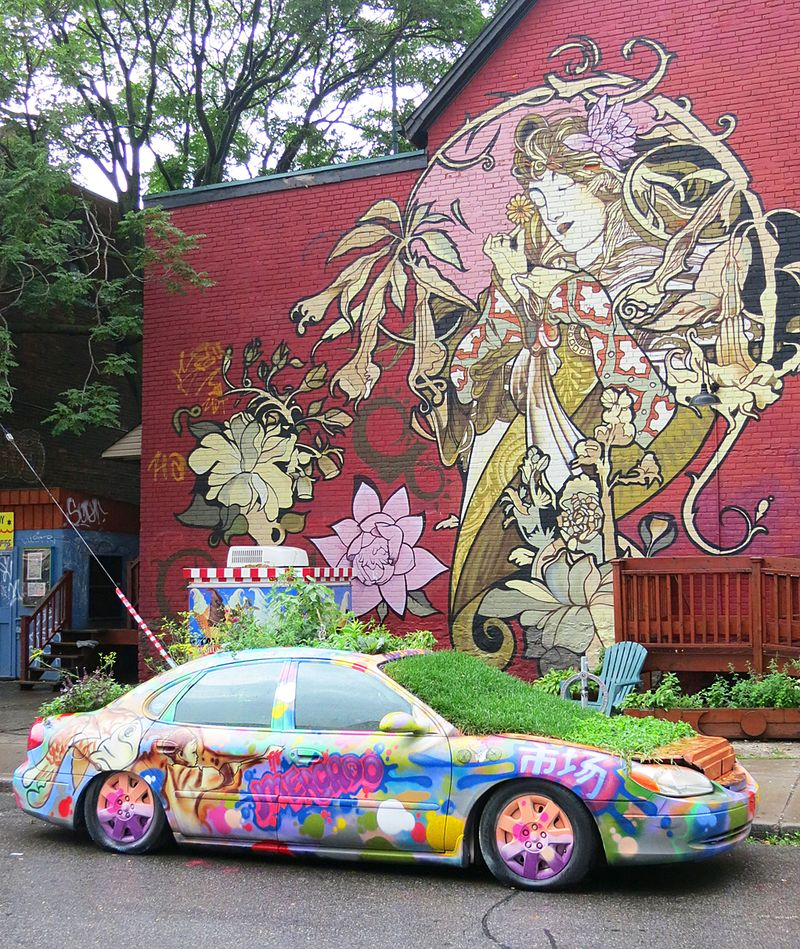Car Planter
