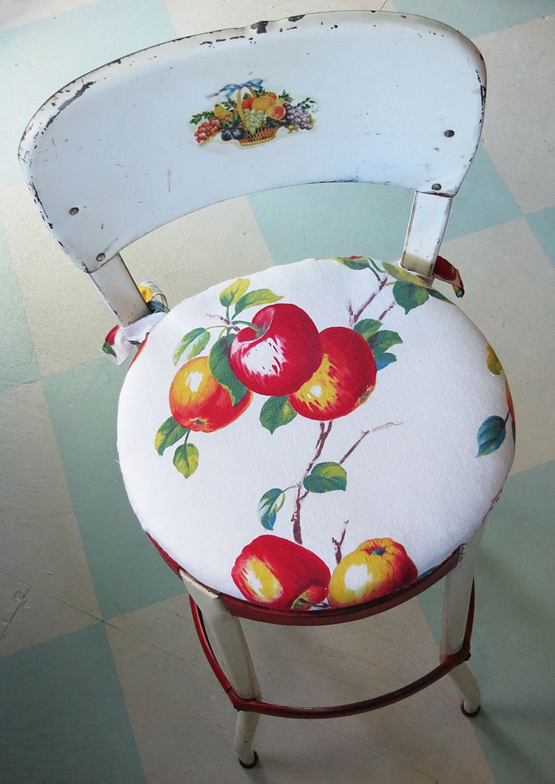 Apple Cushion for Chair