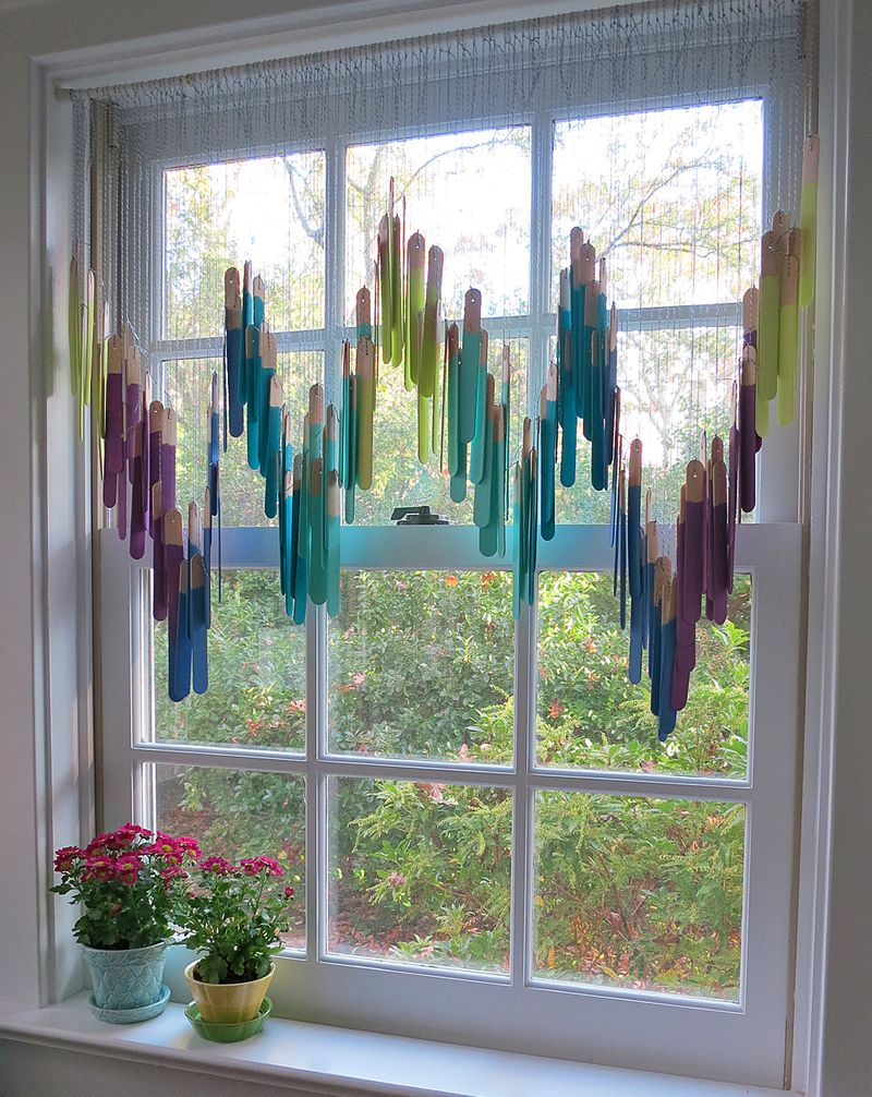Craft Stick Valance 3