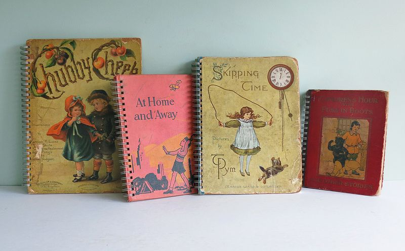 Repurposing vintage books into spiral bound journals the t cozy my spiral bound books solutioingenieria Gallery