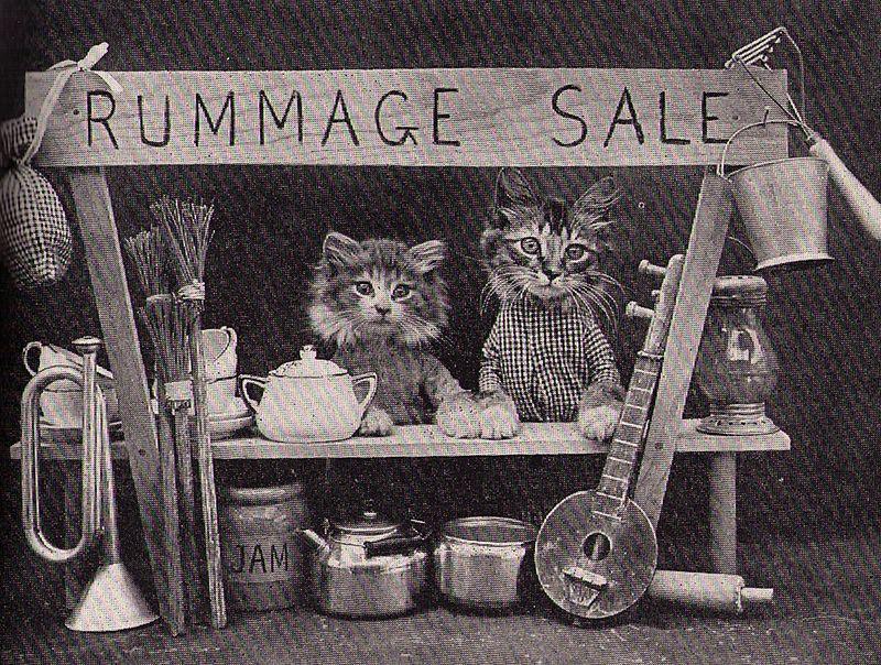 Cats rummage sale
