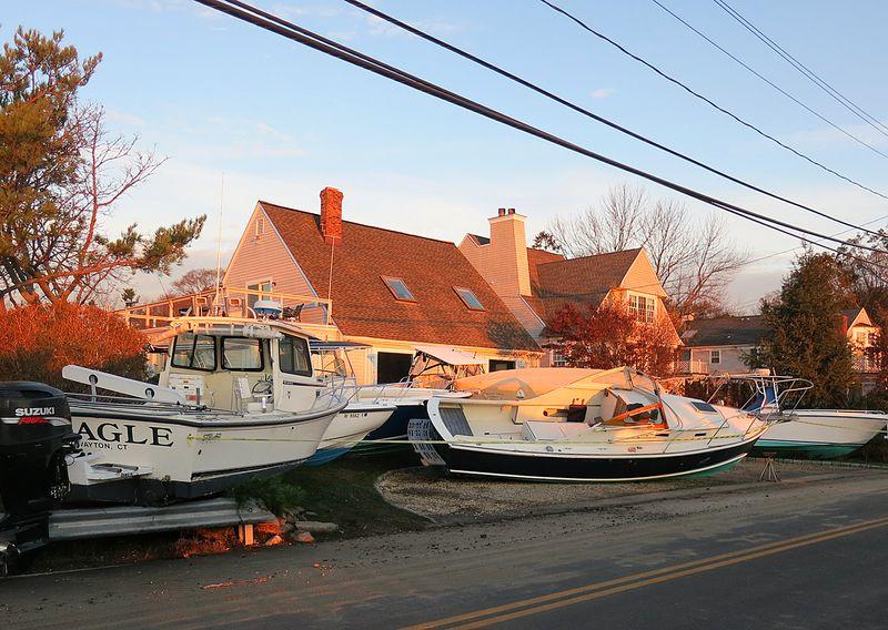 Front Yard Boats