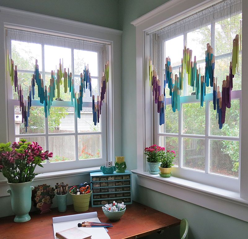 Craft Stick Valance 1