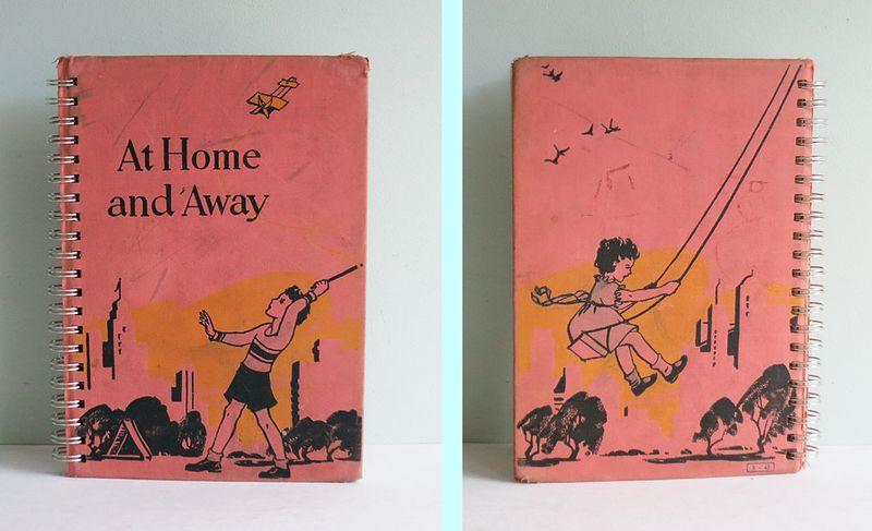 At Home & Away Spiral Book