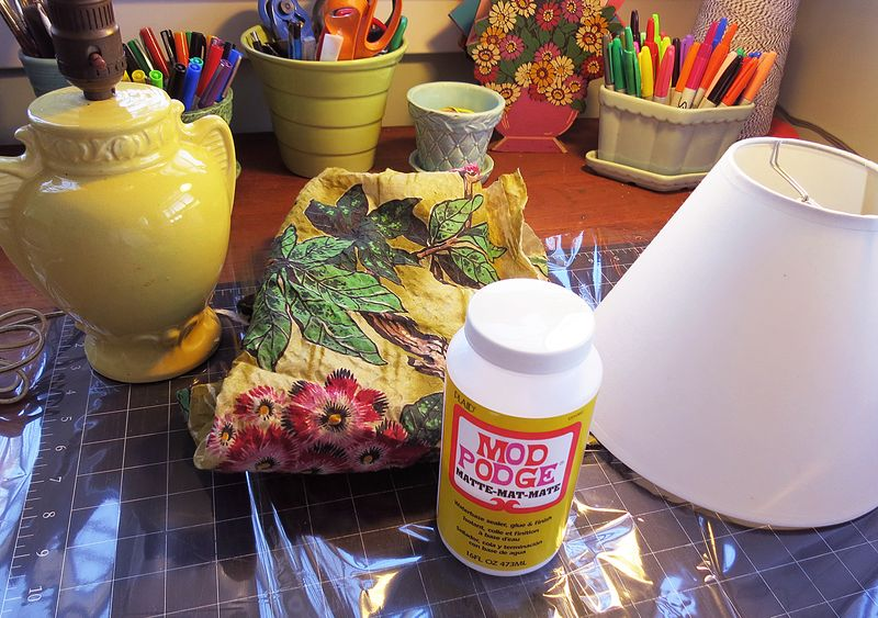 Lamp Shade Project Materials