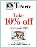 T-Party Antiques Discount Offer