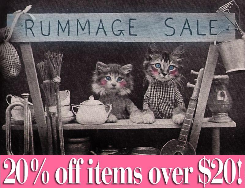 Rummage Sale Blog
