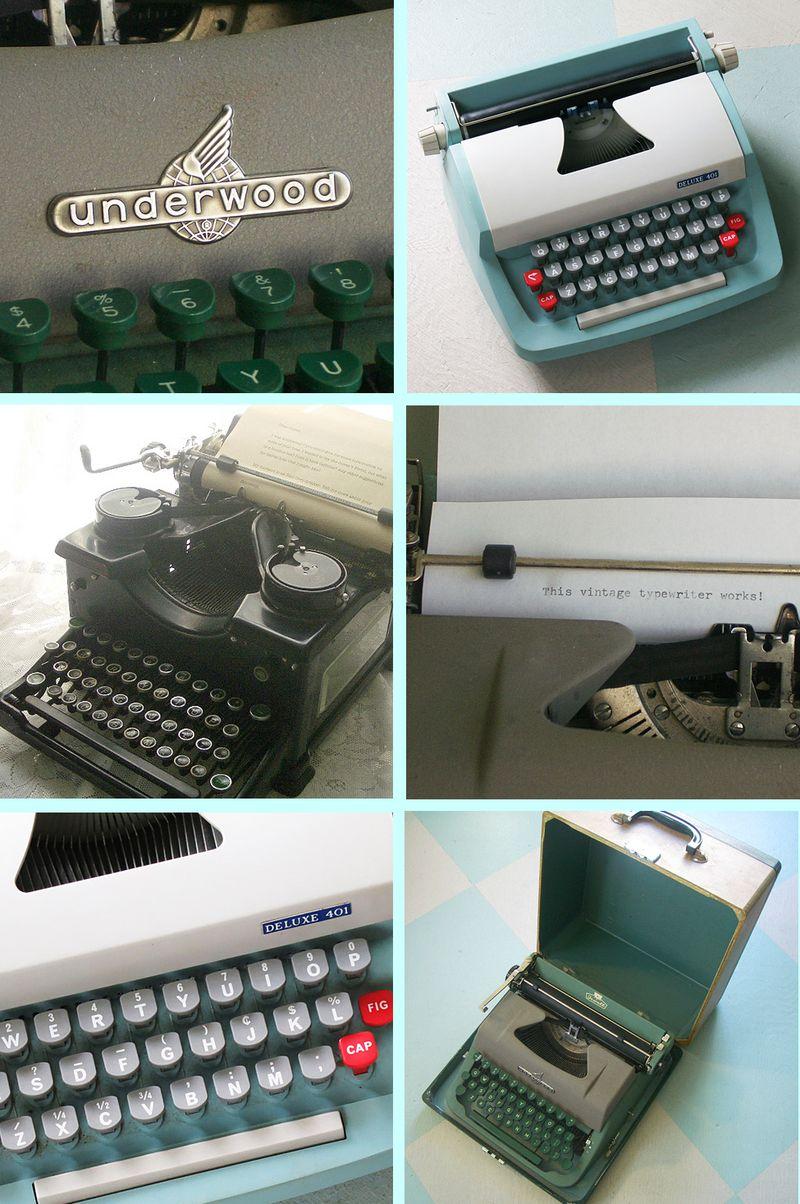 Typewriter Mosaic