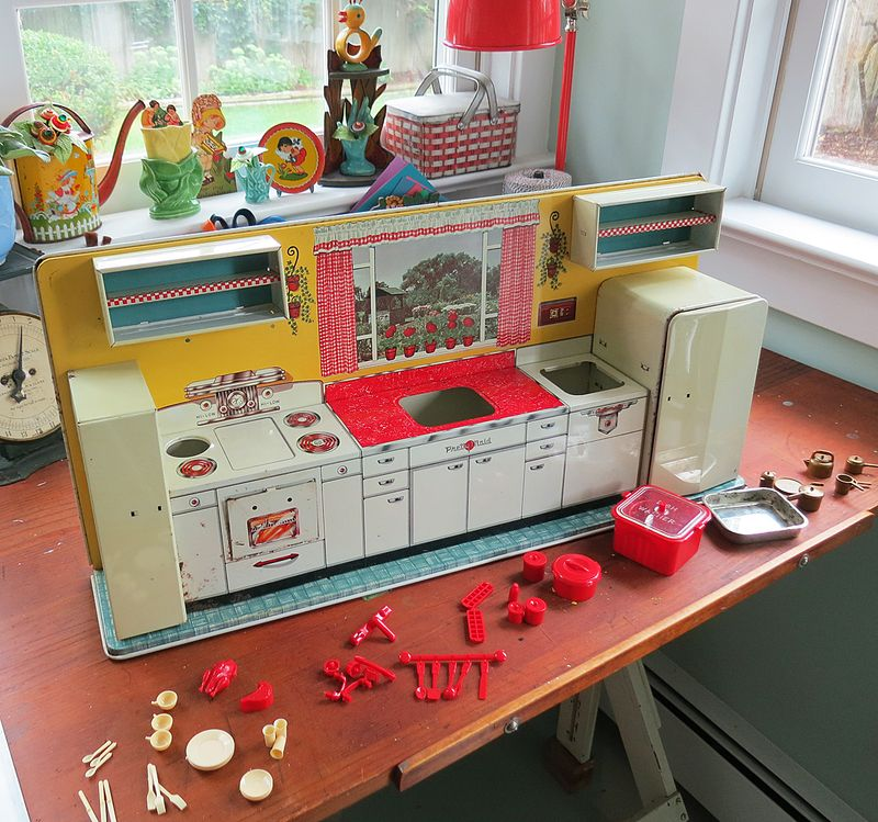 My Marx Modern Toy Kitchen Set Circa 1950 The T Cozy