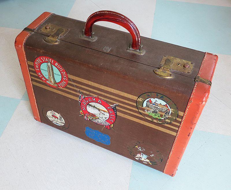 Travel Sticker Suitcase1