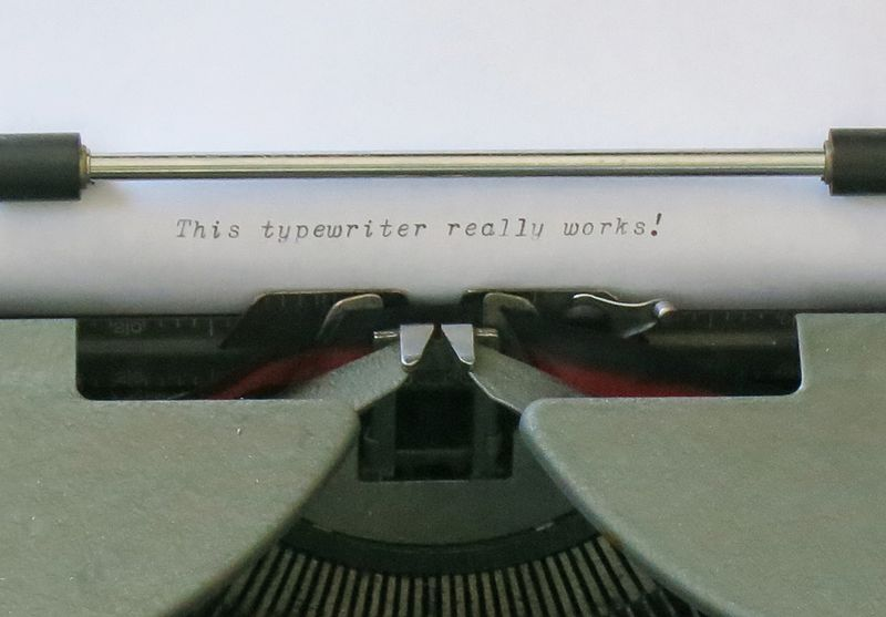 Royal Portable Typewriter Type
