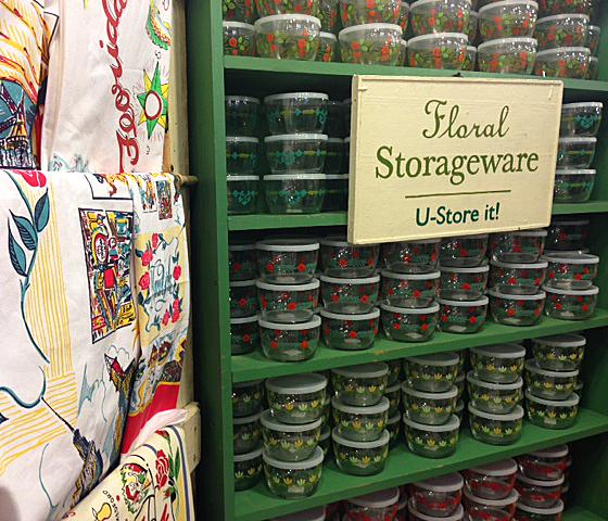 Floral Storageware