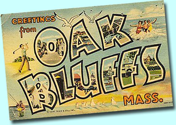 Oak Bluffs card