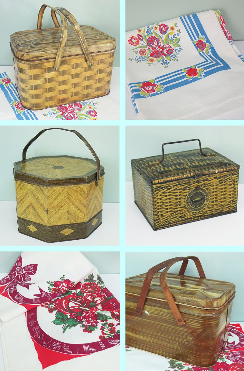 Picnic Tins and Cloths