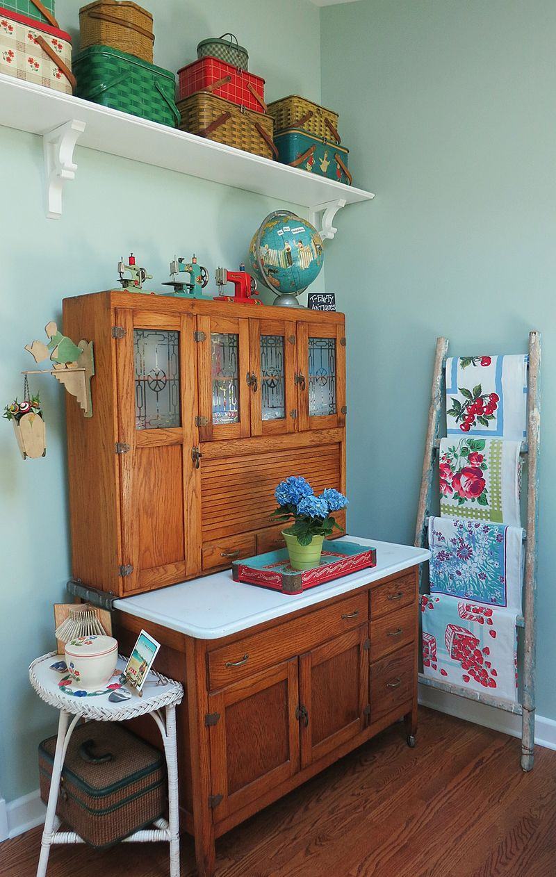 Hoosier Cabinet in T-Party's Studio
