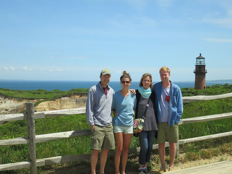At the Aquinnah Lighthouse
