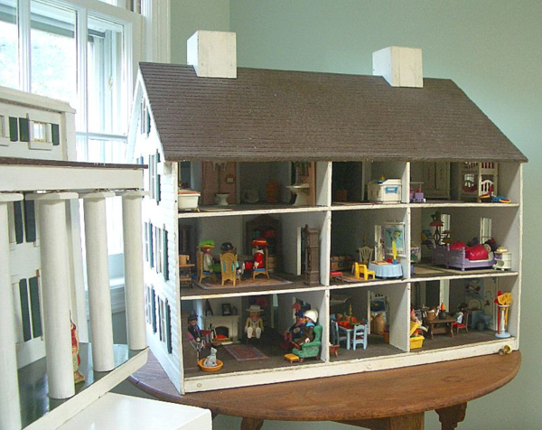 George washington slept here the t cozy for Cuisine playmobil