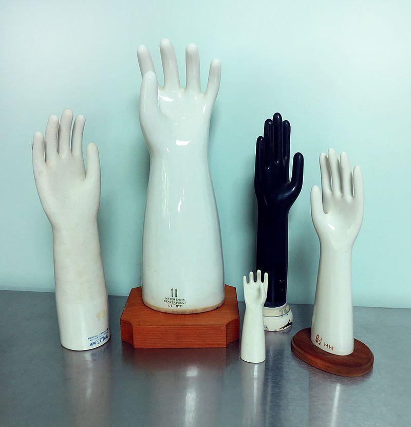 Porcelain Hand Molds