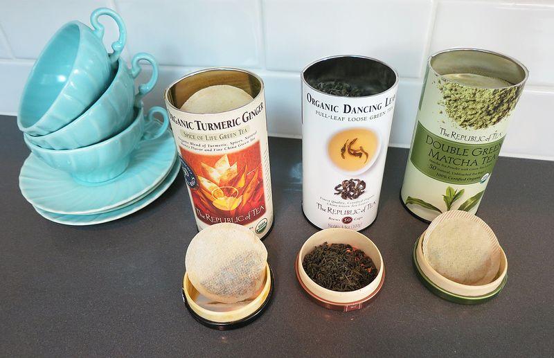 Republic of Tea Tasting 2