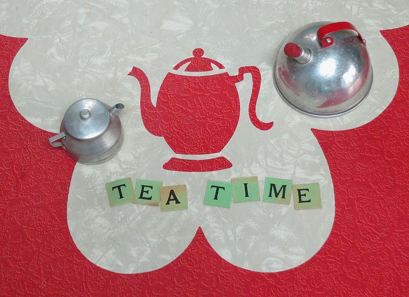 T-Party Tea Time Letters