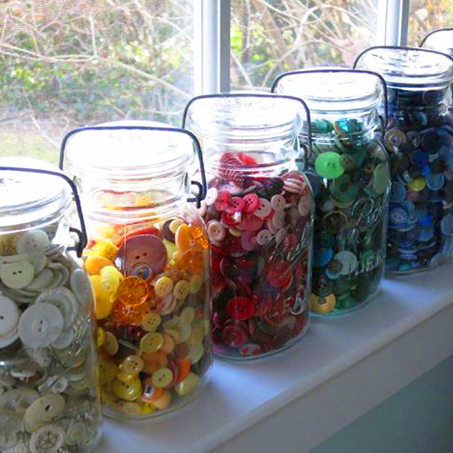 Jars of Buttons