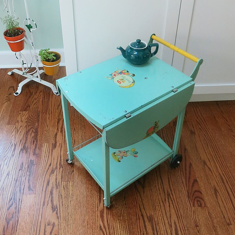 Amsco TV Cart