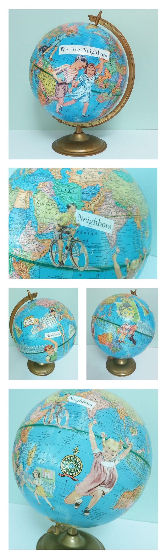 T-Party Antiques Art Globe