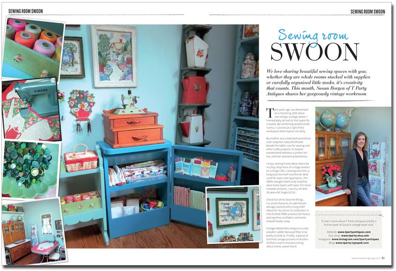 Sewing Room Swoon article
