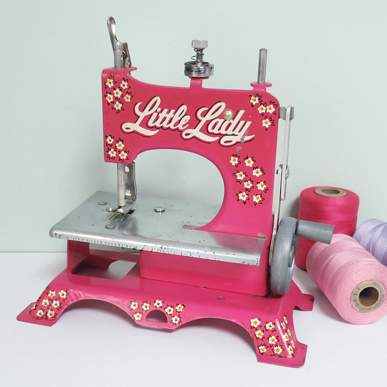 T-Party Antiques Little Lady Toy Sewing Machine