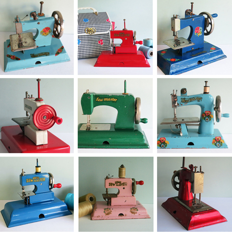 T-Party Antiques Sold Toy Sewing Machines