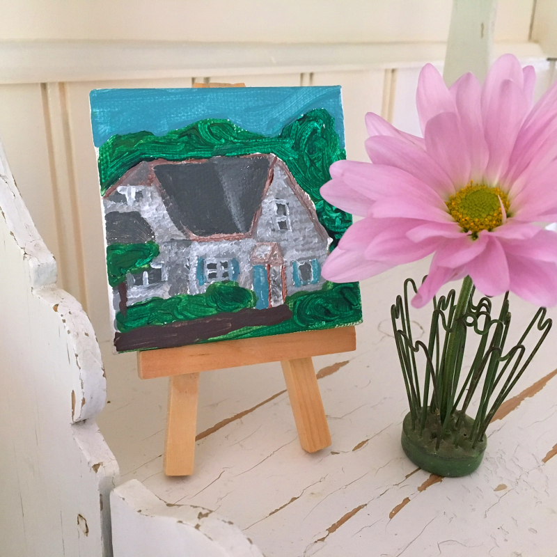 MV House Tiny Painting