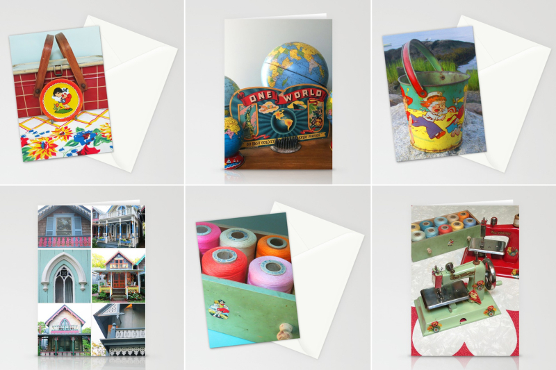T-Party Stationery Cards onSociety6