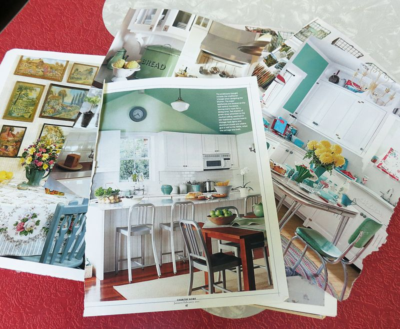 Kitchen Inspiration Tear Sheets