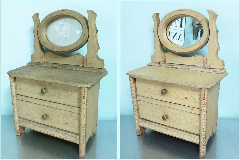 Doll Dresser Before & After