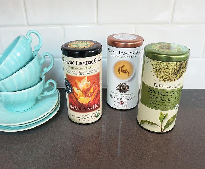 Republic of Tea Tasting 1