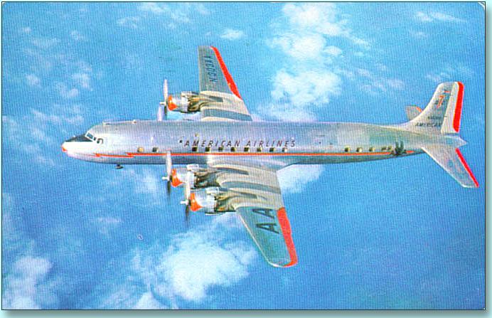 DC-7 Postcard