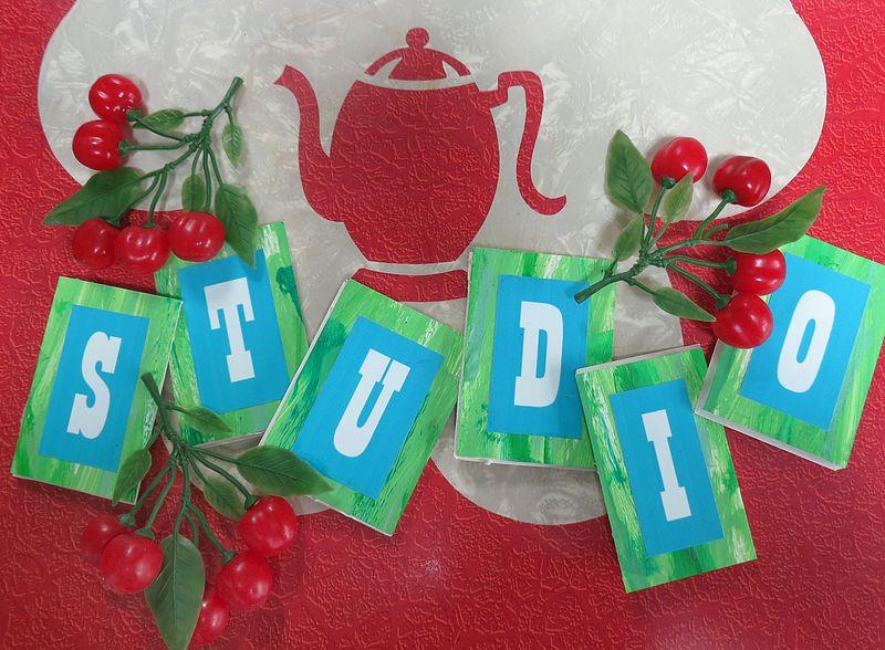 T-Party Studio Letters