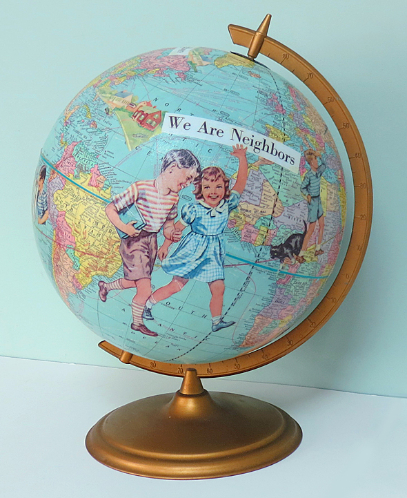 New Neighbors Globe
